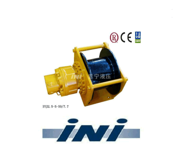 Ini Hydraulic Free Fall Construction Winch with Invention Patent