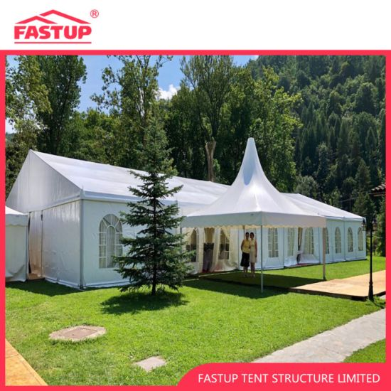 Aluminum Frame Wedding Marquee Party Tent for Events with Pagoda