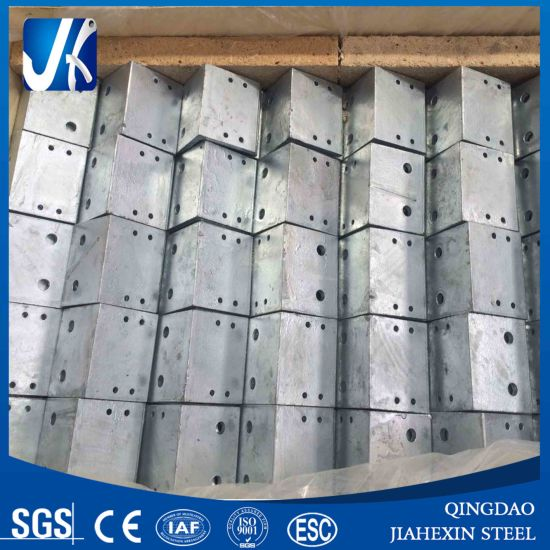 Steel Angle Bracket with Drill Holes pictures & photos