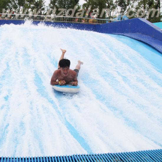 Flowrider Water Slide with Surfboard
