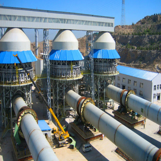 High Efficiency Lime / Cement Rotary Kiln Equipment pictures & photos