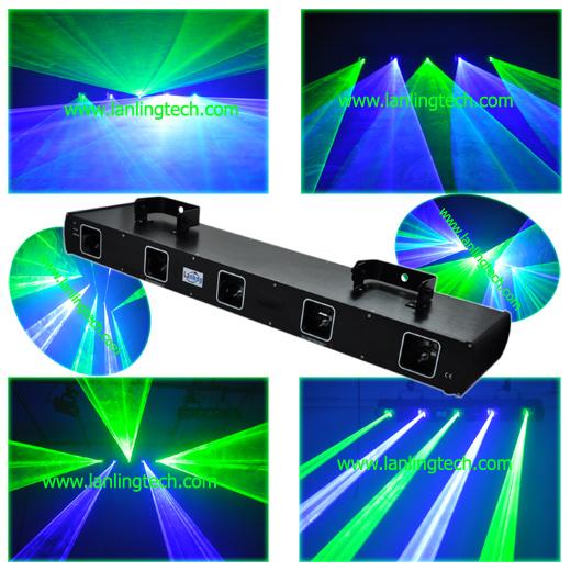 Laser Show System 5 Head GB