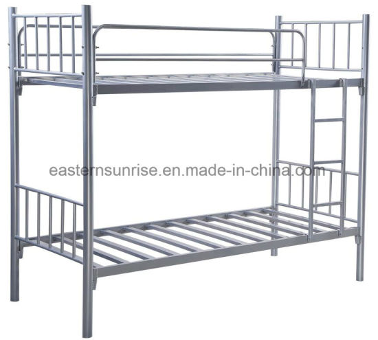 Modern Furniture Double Project Dormitory Steel Metal Frame Bunk Beds