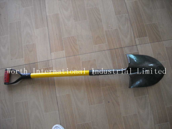 Fiberglass Handle Shovel pictures & photos