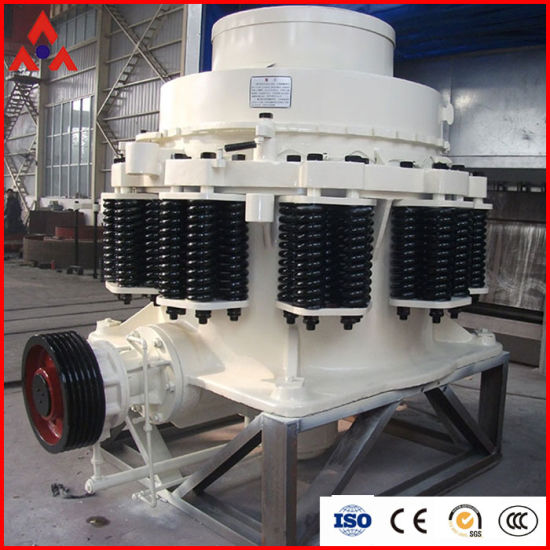 High Reliability Compound Spring Symons Hydraulic Cone Crusher Machine