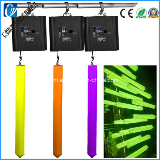 DMX 512 Winches Kinetic Light with LED Tube DMX System