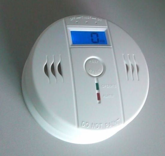 Battery Powered Wholesale Carbon Monoxide Co Detector with LCD Display