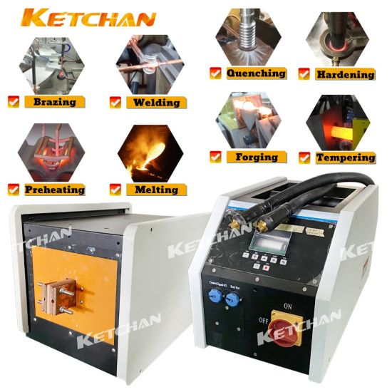 Digital Automatic Induction Heating Hardening Quenching Brazing Welding Forging Melting Tempering Annealing Preheating Machine