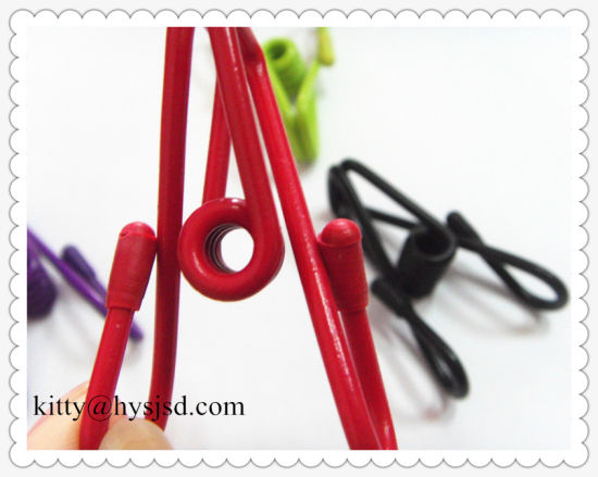 Factory Clothes Wire Clip with Plastic Covery / Clothespins