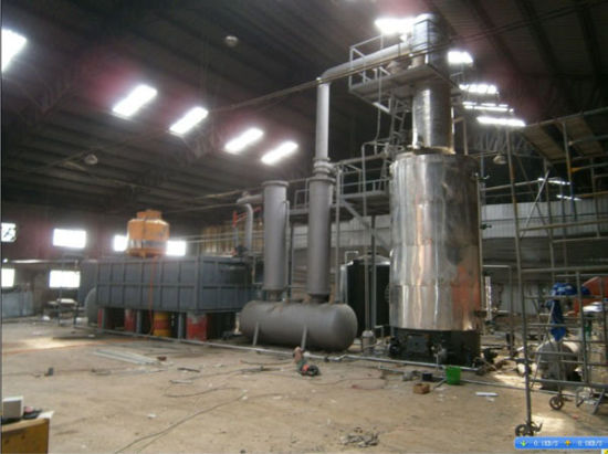 New Condition Waste Tire Refinery to Oil Plant 12ton pictures & photos