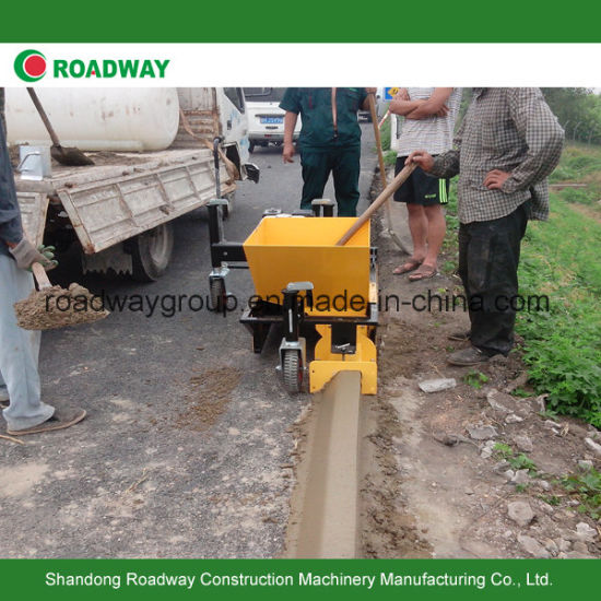 China Roadway Concrete Road Curb Paver Machine Slipform