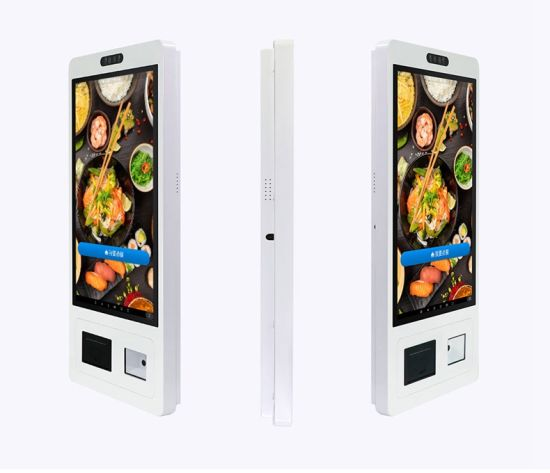 21.5 Inch Touch Screen One-Stop Restaurant/Shopping Self-Service Payment Kiosk/Self Ordering Kiosk