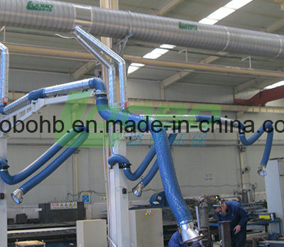 Flexible Internally Artriculated Fume Tracker Arm for Controlling Weld Fumes pictures & photos