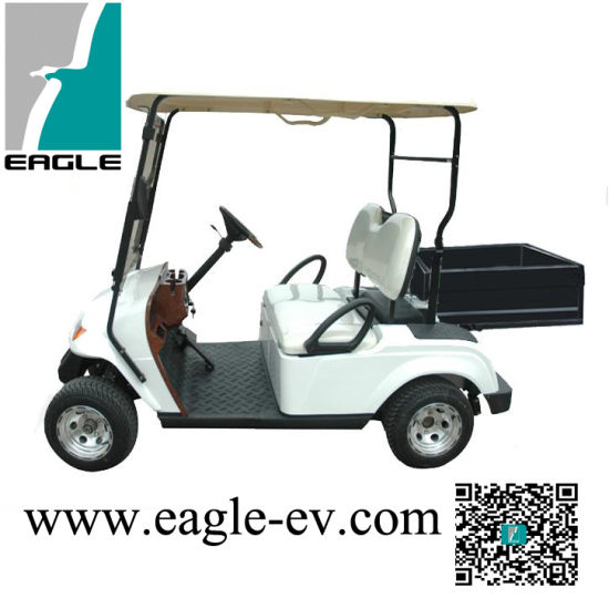 Utility Golf Car, 2 Seats Electric Golf Cart, Steel Cargo Box pictures & photos
