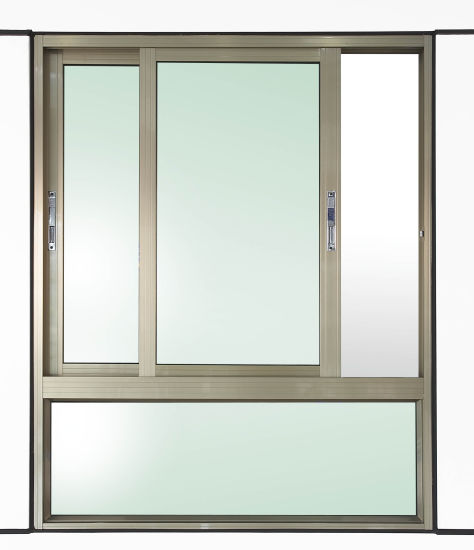 Double Glazing Aluminum Casement/Swing Plastic Window pictures & photos