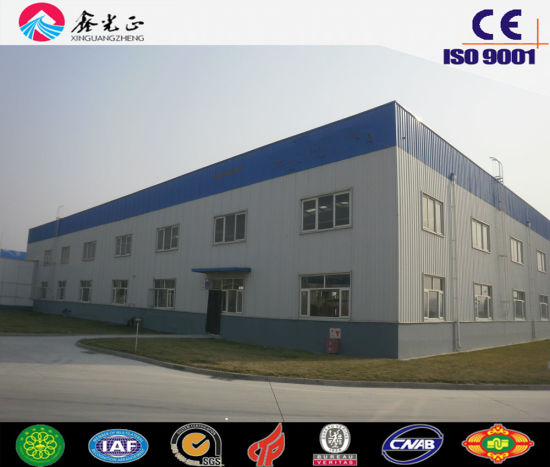 High Quality Steel Frame/Professional Steel Warehouse (JW-16207)