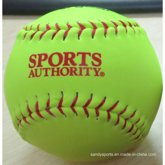"12"" Yellow Training Softball pictures & photos"