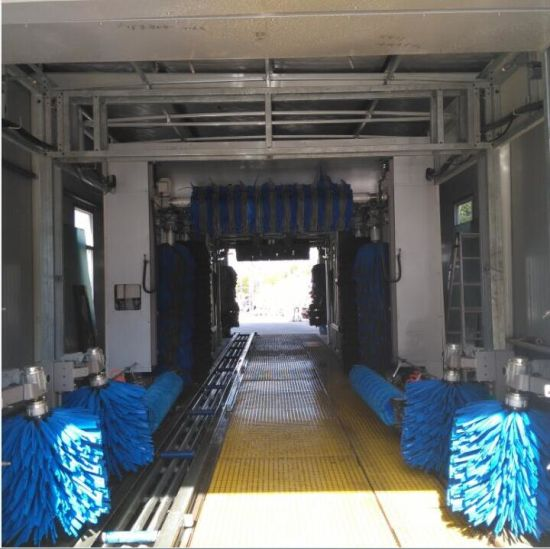Fully Automatic Tunnel Car Washing Machine Clean Equipment System Manufacture Factory Fast Cleaning pictures & photos