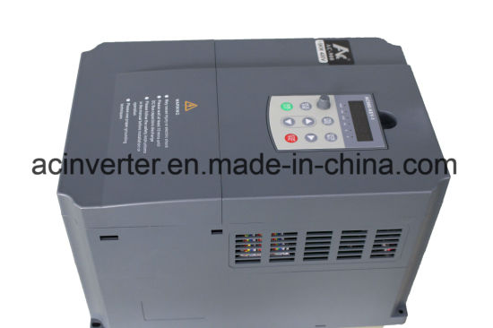 High Voltage Power Inverter Input 380V 400V AC Variable Frequency Drive VFD 3pH 55kw for Industrial Appliance (AC9004T55G)
