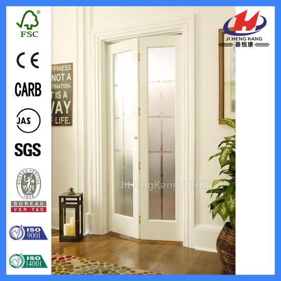 China White Oak Interior Laminate Cabinet Inch Bifold Door China