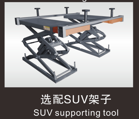 Btd Fixed Scissor Lift Platform Stationary Scissor Lift Table Car Hydraulic Lift pictures & photos