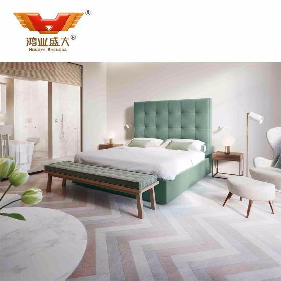High Quality Luxury Living Bed Room Furniture Bedroom Set Hotel
