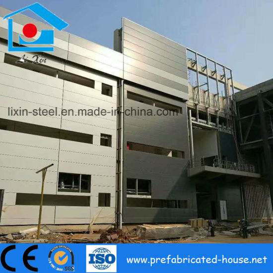 Pre-Engineer Structural Steel Frame Buildings Industrial Workshop Steel Construction pictures & photos