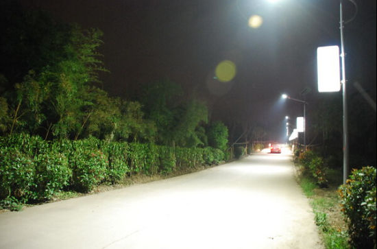 25W LED Solar Street Lighting with 6m Pole (DZS-06-25W) pictures & photos