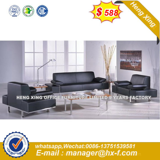 Modern Fabric Living Room Wooden Frame Sofa Sets (HX-8N2279) pictures & photos