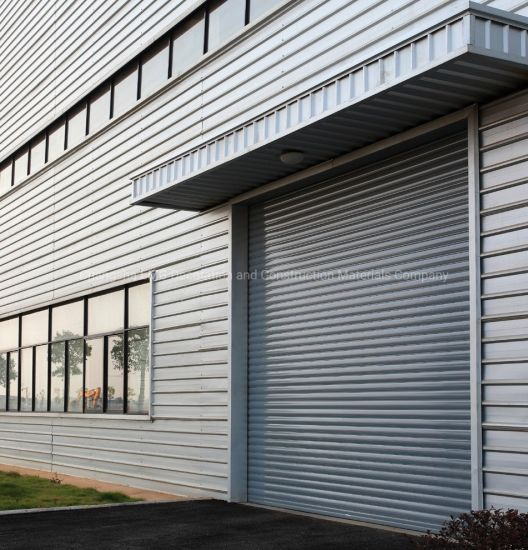 China Automatic Aluminum Rolling Shutter Industrial Commercial Security Roller Shutters Roll up Sectional Garage Door