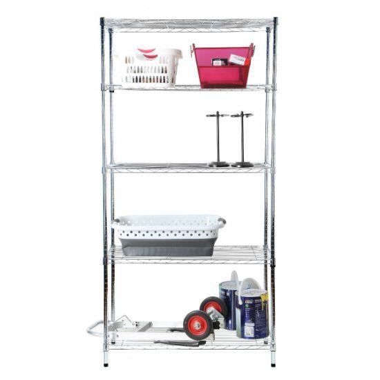 Moden 4 Tier Wire Shelving Unit Deep Ventilation Shelves Garage Tool on 24 deep lockers, 24 deep freezer, 24 deep sinks, 24 deep refrigerator, 24 deep table, 24 deep wardrobe, 24 deep sofa,