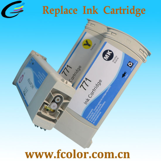 Quality Printer Cartridge HP771 for HP Z6600 Ploter Cartridge pictures & photos