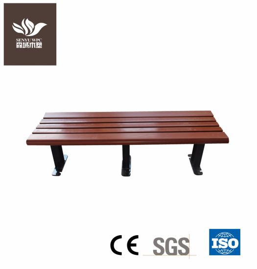 Park Furniture WPC Wood Plastic Waiting Chair Bench