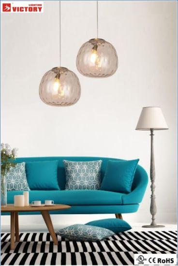 Modern Dispay Hotel /Restaurant Use Pendant Lights H-3643m-Clear