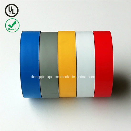 2018 Single Sided Rubber Adhesive PVC Electrical Insulation Tape pictures & photos