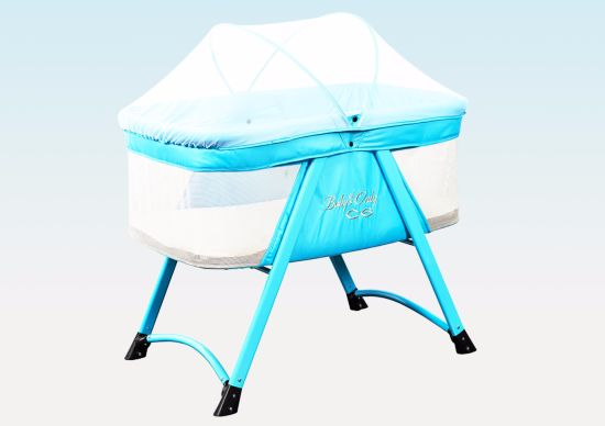 Safety Folding Comfortable Baby Cot for Home and Outside