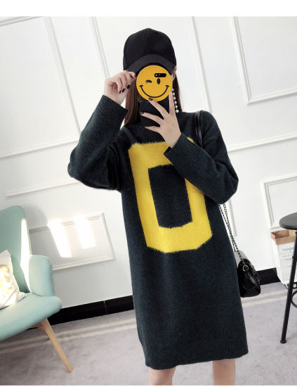 Turtleneck Wool Sweater Lady Casual Long Pullover Thicken Warmth Knitted Sweaters pictures & photos