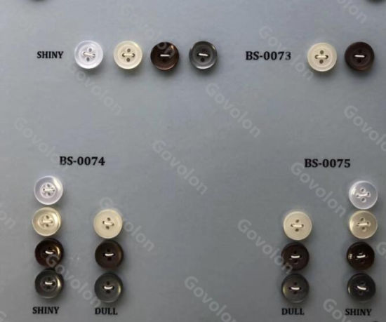 The Elegant High Class of Round Resin Button