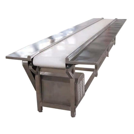 Chinese Suppliers Stainless Steel Belt Cooling Conveyor
