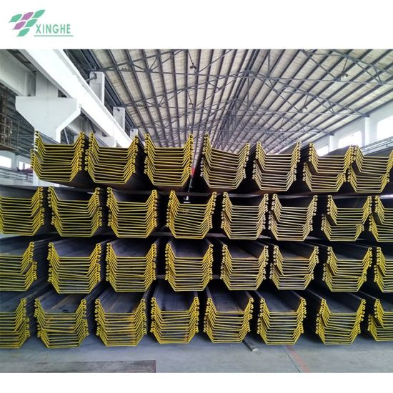 Low Price U Type Cold Formed Steel Sheet Pile From China Big Mill