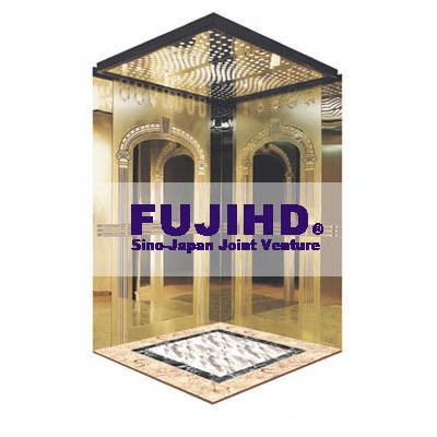 FUJI Lucury Passenger Elevator Lift with Glass Mirror Price