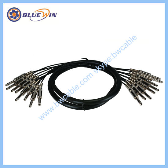 Snake Cable Stereo Trs Jack to XLR Male PRO Audio Loom Fantail Cable