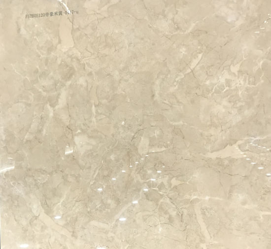 Gloss Polished Porcelain Marble Effect Floor Tile 600X600mm (SD6006) pictures & photos