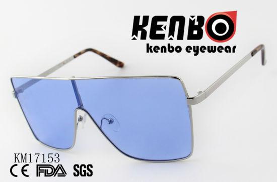 88e4bd93e03f China Fashion Sunglasses with Big Size One Piece Lens Km17153 ...