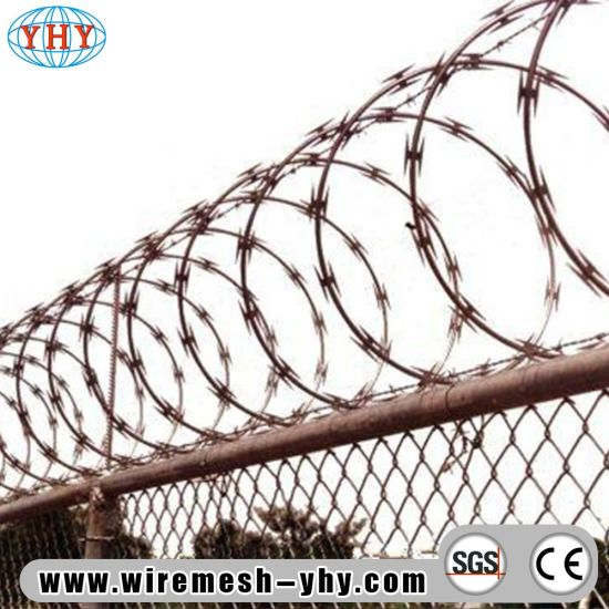 China Galvanized Razor Barbed Wire Specifications - China Metal Wire ...