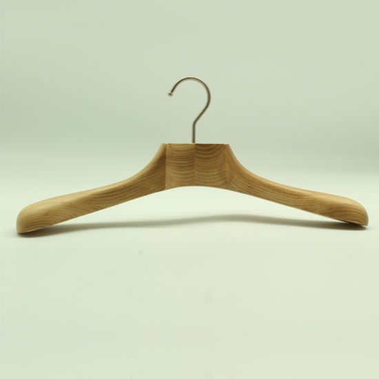 Yeelin Designed Coat Hanger with Digital Curved Neck pictures & photos