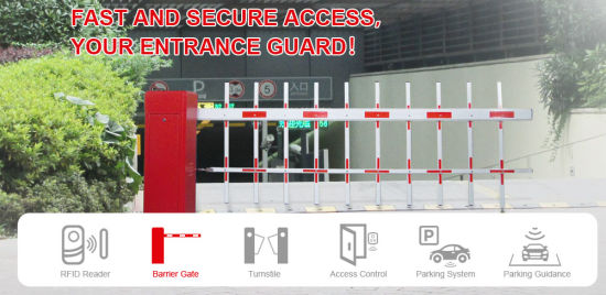 Best Quality Access Control Parking System Barrier Gate pictures & photos