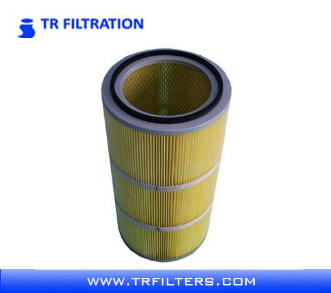 Waterproof and Anti-Oil Polyester Dust Collect Filter Cartridge