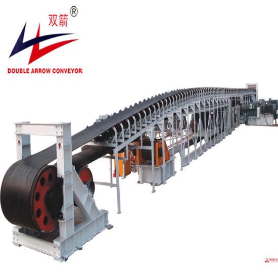 Mixed Soil Mixing Station Concrete Long Distance Heavy Belt Conveyor