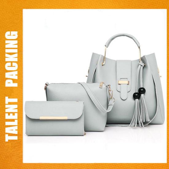 db4615dfde11 Wholesale Ladies Bag Fashion 3PCS Handbag Sets Women Tote Bags